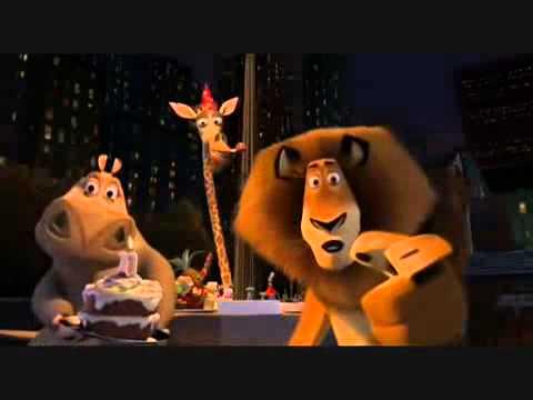 Feliz Cumpleaños Madagascar Youtube