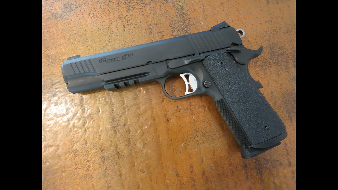 Sig Sauer 1911 Traditional Tacops