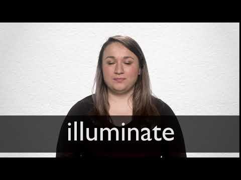 """Hindi Translation of """"illuminate""""   Collins English-Hindi"""