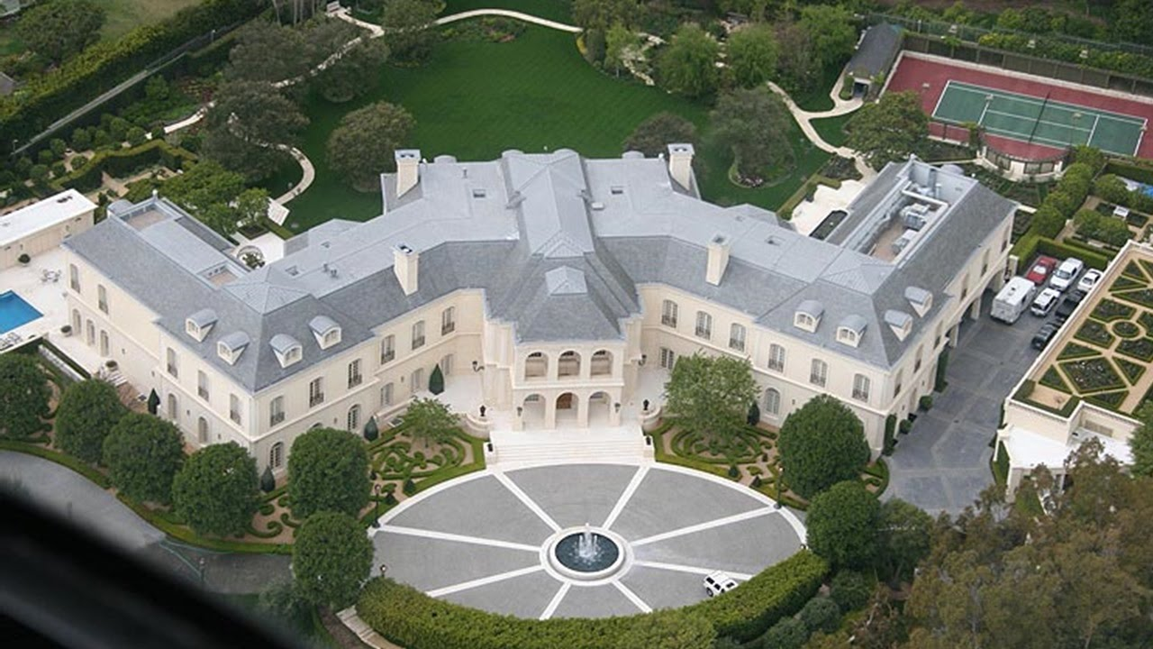 Top 10 Largest Mansions In The World   YouTube
