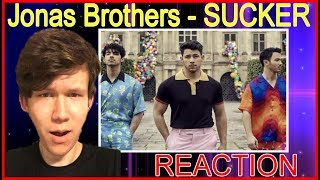 "Baixar ""I'm a SUCKER for this new Jonas Brothers"" Single - Jonas Brothers - Sucker REACTION"