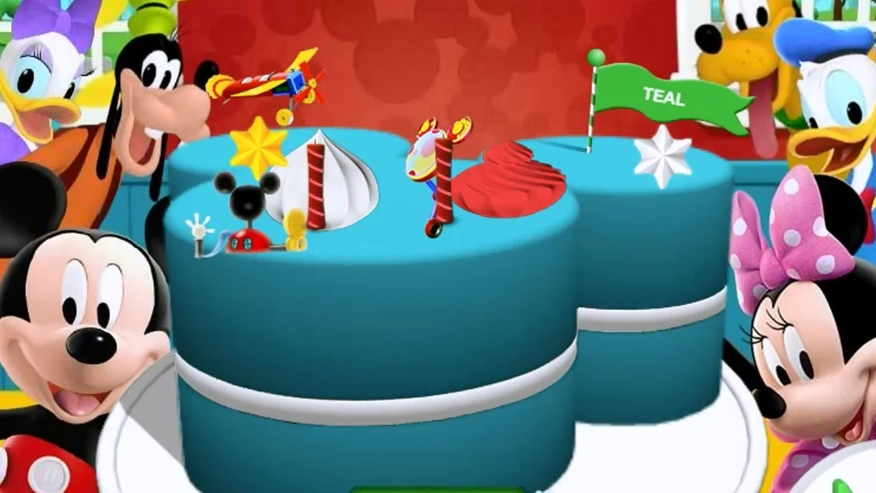 Mickey Mouse Clubhouse Happy Birthday Party Free Disney