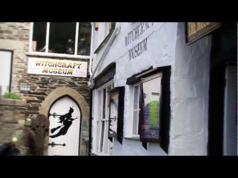 WITCHCRAFT IN CORNWALL - THE MUSEUM OF WITCHCRAFT BOSCASTLE CORNWALL