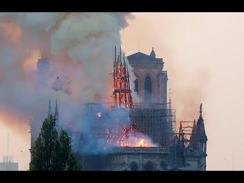 """Notre Dame: """"The entire fire is out,"""" says Paris Fire Brigade"""