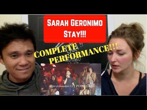 Sarah Geronimo - Stay (Alessia Cara)...