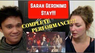 Sarah Geronimo - Stay (Alessia Cara) REACTION