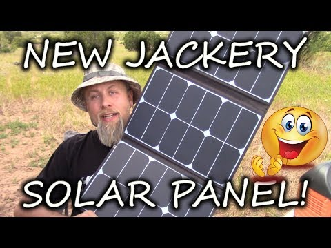 NEW Jackery SolarSaga 60 Watt Solar Panel UNBOXING And FIRST EVER Hands On REVIEW