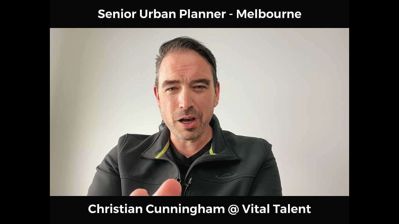 Senior Urban Planner - Melbourne