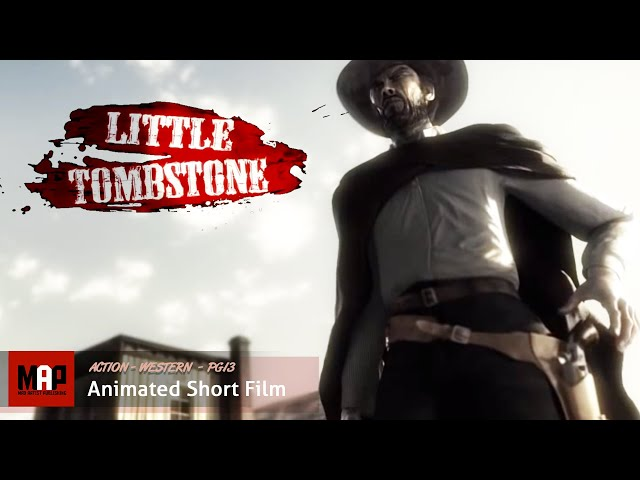 LITTLE TOMBSTONE | In this wild west, not even Dirty Harry would survive  - 3D CGI Animation by ESMA