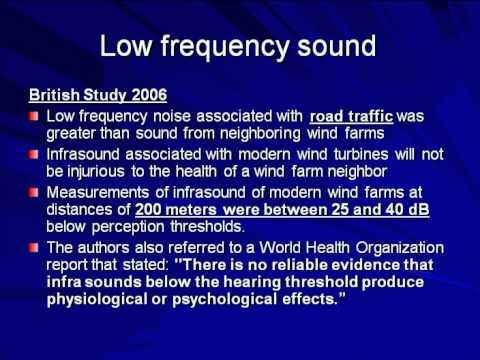 Wind Turbine's Noise & Health: Fact vs. Fiction