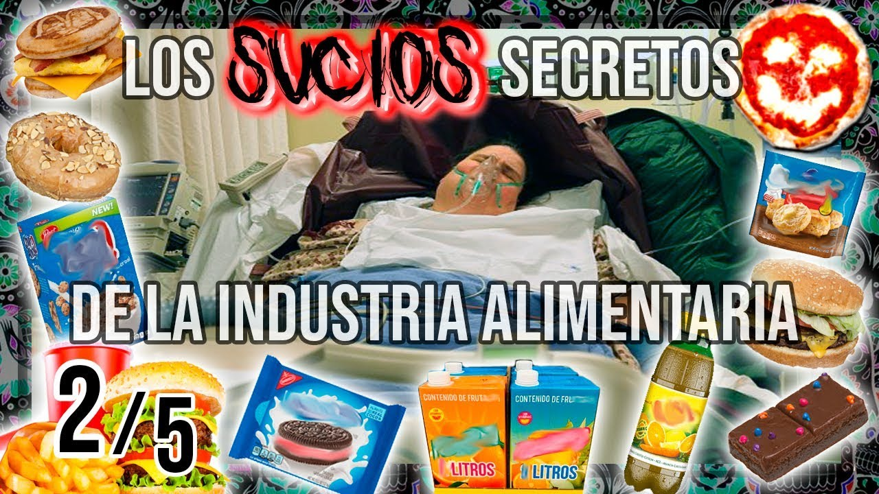 FED UP:  Los SUCIOS SECRETOS de la INDUSTRIA ALIMENTARIA. Subtitulado. - (Serie, 2 de 5)