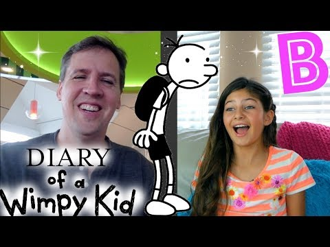 Diary of a Wimpy Kid 'Author' Interview! Would you Rather Questions.