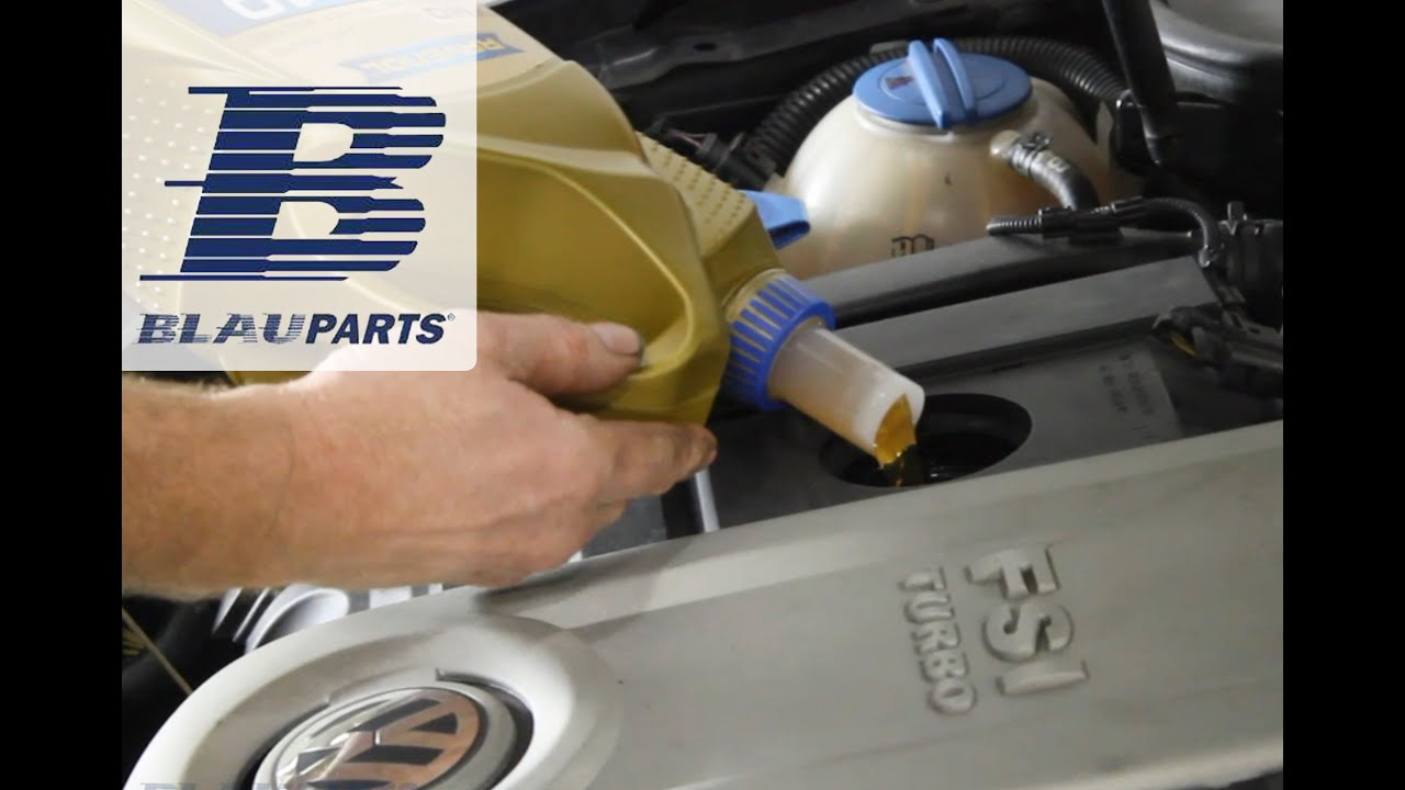 How To Change Audi VW Motor Oil and Filter 2 0T FSI Engines