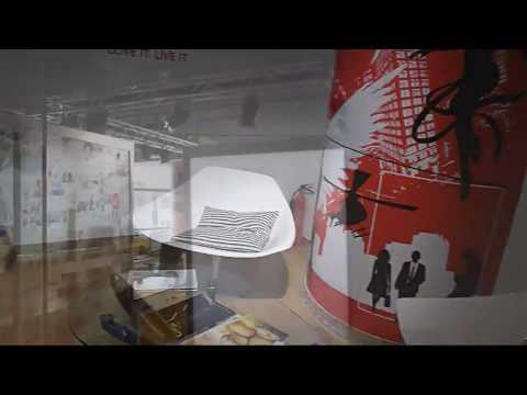 Office Interior Graphics - Media City, Dubai 2012