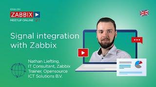 Signal integration with Zabbix