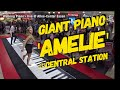 Amelie on Giant piano.