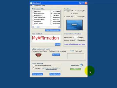 Review of Mindzoom Subliminal Software at www reviewmindzoom com