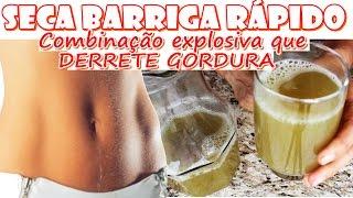 Bebida DESTRUIDORA DE GORDURA LOCALIZADA! Emagrece até 8kg no mês
