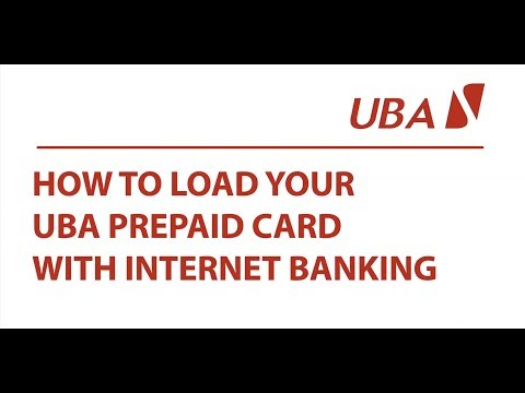 How To Load Your UBA Prepaid Card