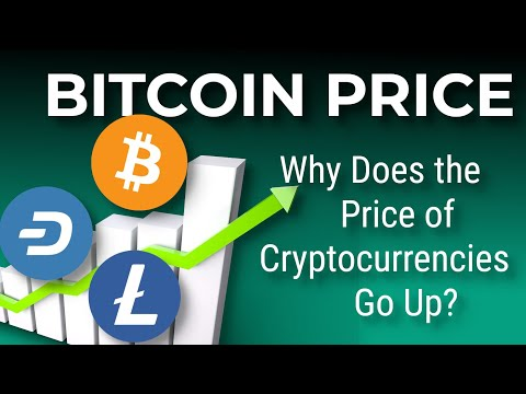 Why Does The Price Of Bitcoin And Cryptocurrencies Go Up?