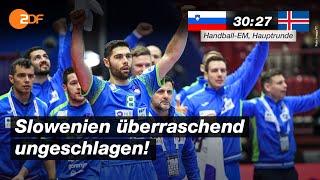 Slowenien - Island 30:27 - Highlights | Handball-EM 2020 - ZDF