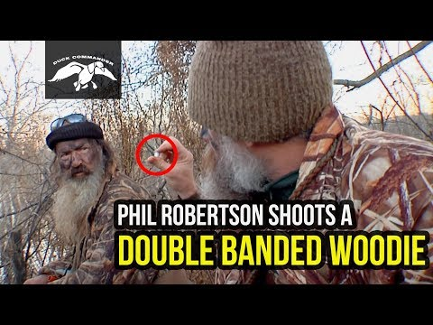 Phil Robertson Shoots A DOUBLE Banded Woodie FULL EPISODE
