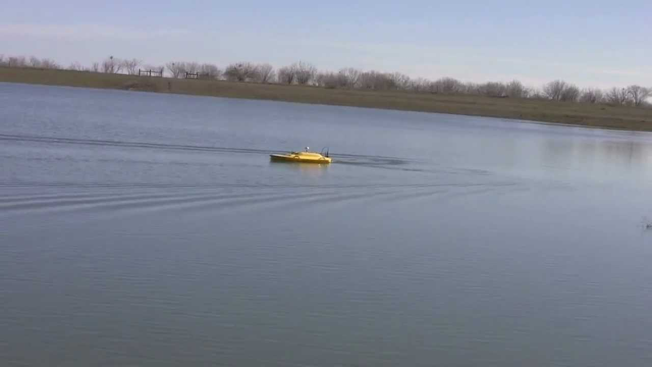 Oceanscience z boat 1800 hydrographic survey boat on frac for Boat garage on water