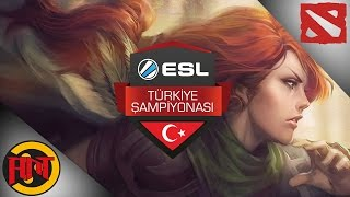 ANT vs Dark Passage First Blood - ESL Türkiye Dota 2 Ligi Son Hafta