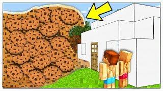 ONDA GIGANTE DI BISCOTTI CONTRO BASE DI LATTE! - Minecraft ITA