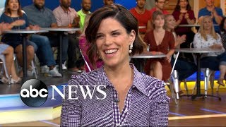 Neve Campbell reveals the straw that literally broke her back