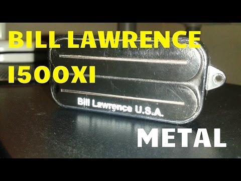 Bill Lawrence USA L500XL Metal Demo