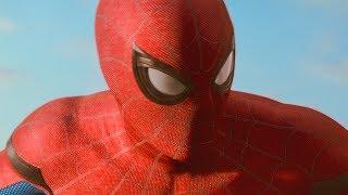Человек Паук помогает людям после школы / Камео Стэна Ли. Человек-паук: Возвращение домой. 2017