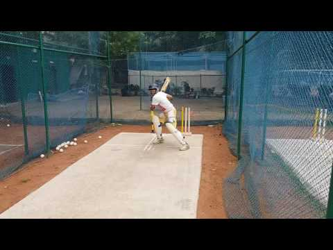 Batting Drills- Calcutta Cricket Academy, Kolkata, West Bengal, India