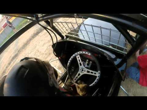 Double X Speedway Tyler Blank Heat Race 8-3-14