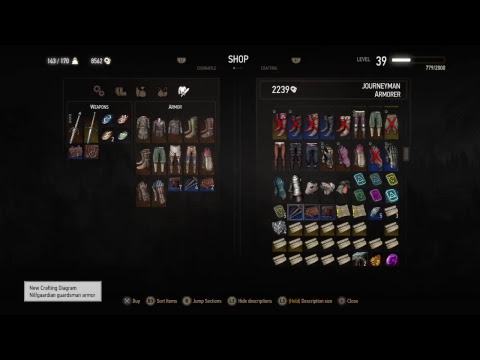 Witcher 3 16 Dlc Armor Sets And How To Get Them