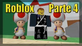 Jogando Roblox - Aventuras de Mario Parte 4