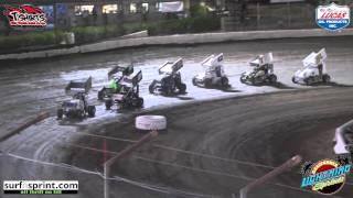 California Lightning Sprints at Bakersfield Speedway