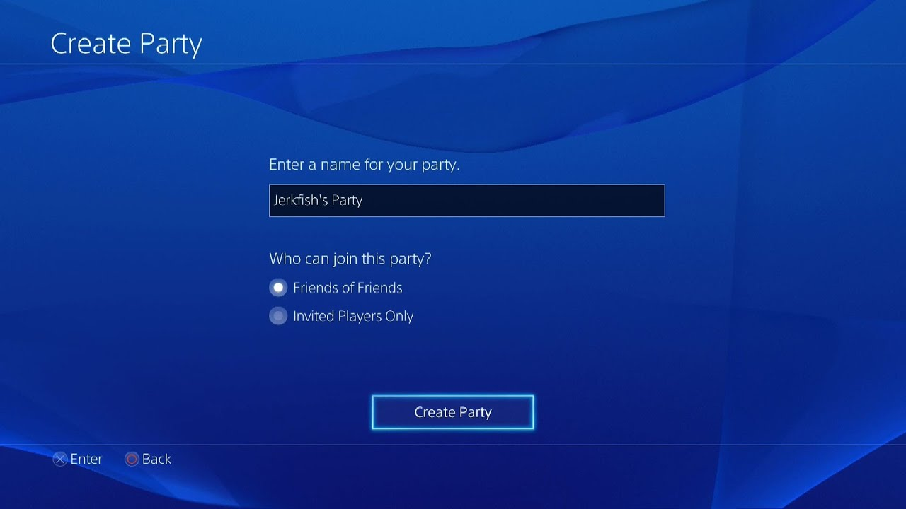 Does ps4 have party chat ps4 faqs youtube stopboris Images