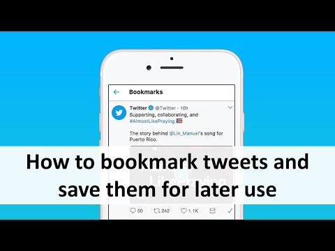 How To Bookmark Tweets And Save Them For Later Use