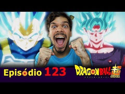 GOKU E VEGETA VS JIREN E O NOVO INSTINTO SUPERIOR - Dragon Ball Super 123