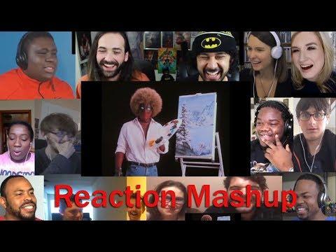 """Deadpool's """"Wet on Wet"""" Teaser   REACTION MASHUP"""