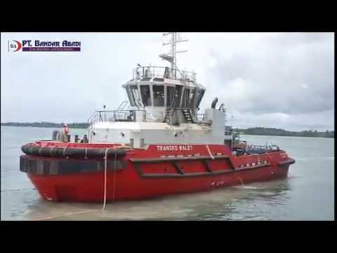 PT. Bandar Abadi Shipyard Launch Harbour Tug 3200 HP