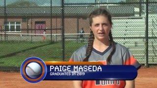 Paige Maseda - Fastpitch Softball Skills - Class of 2019