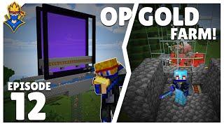 Minecraft Multiplayer Survival Ep12 | OP Gold Farm - Minecraft Hindi | Bond 2