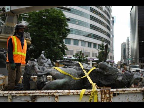قوة خاصة لحماية التماثيل في الولايات المتحدة الامريكية.. وترامب يحذر المخربين  - نشر قبل 3 ساعة