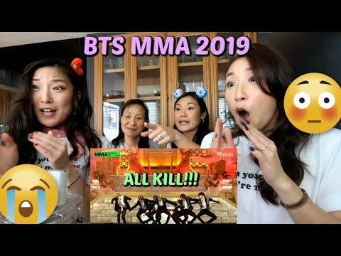 BTS MMA 2019 (Melon Music Awards) Full Performance FAMILY REACTION