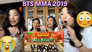 Download BTS MMA 2019 (Melon Music Awards) Full Performance FAMILY REACTION