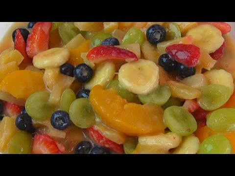 Betty's Rich Pudding Fruit Salad