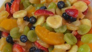 Betty's Rich Pudding Fruit Salad