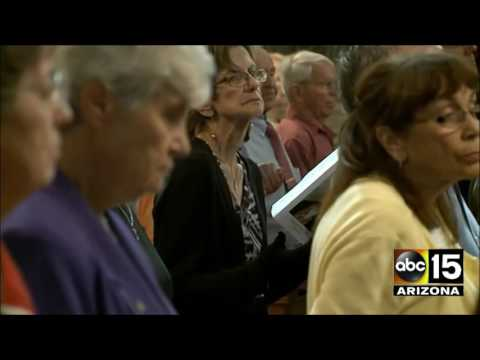 Heartbreaking. Funeral service for Sister Margaret Held who was fatally stabbed in Mississippi
